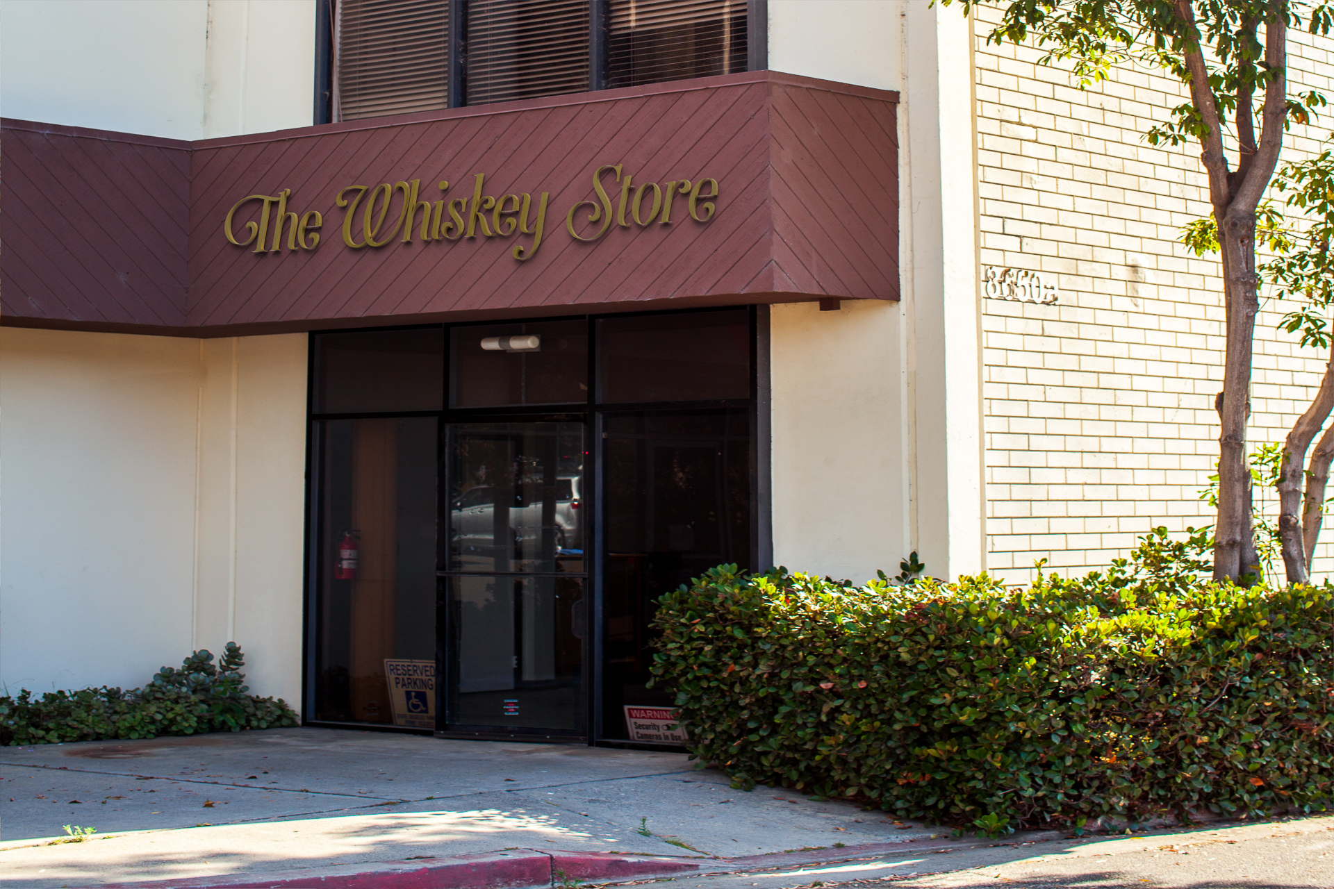 The Whiskey Store located at 8650 Hayden Pl. Culver City, CA 90232