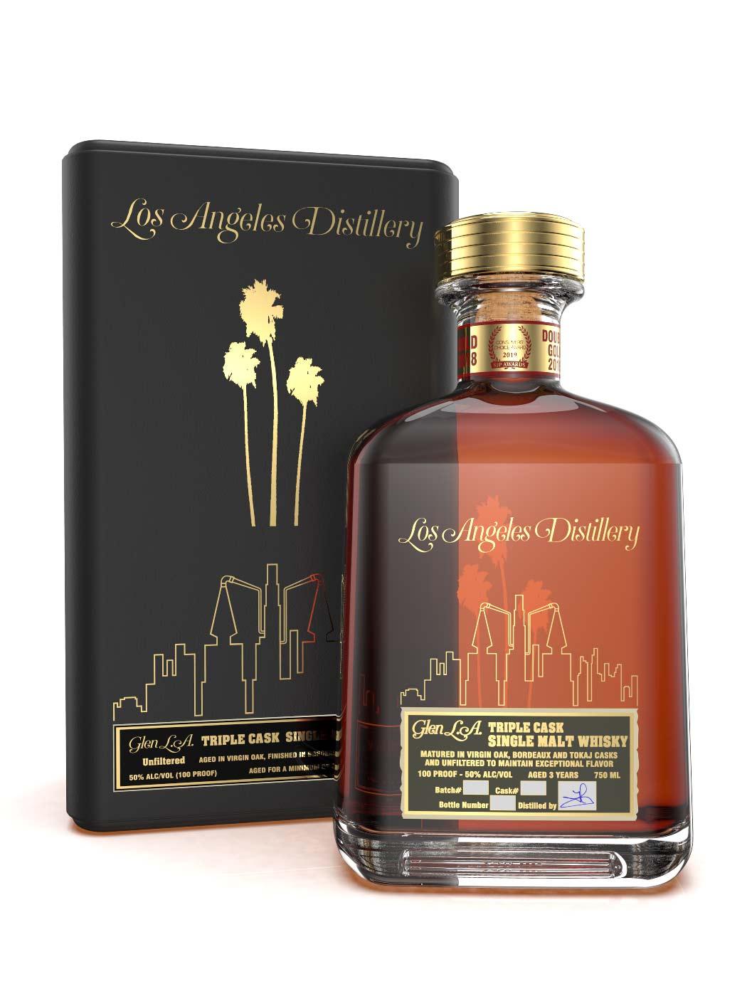LA Distillery's Triple Cask Single Malt Whisky Collector's Edition