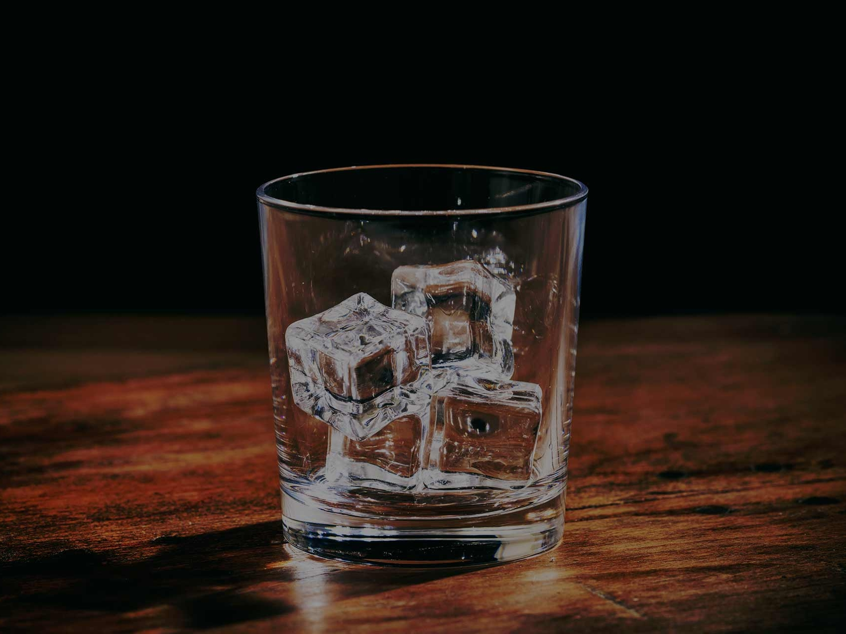 The empty glass of whiskey portrays the fact that you have navigated away from where you are supposed to be, back to the Whiskey Store Shop page.